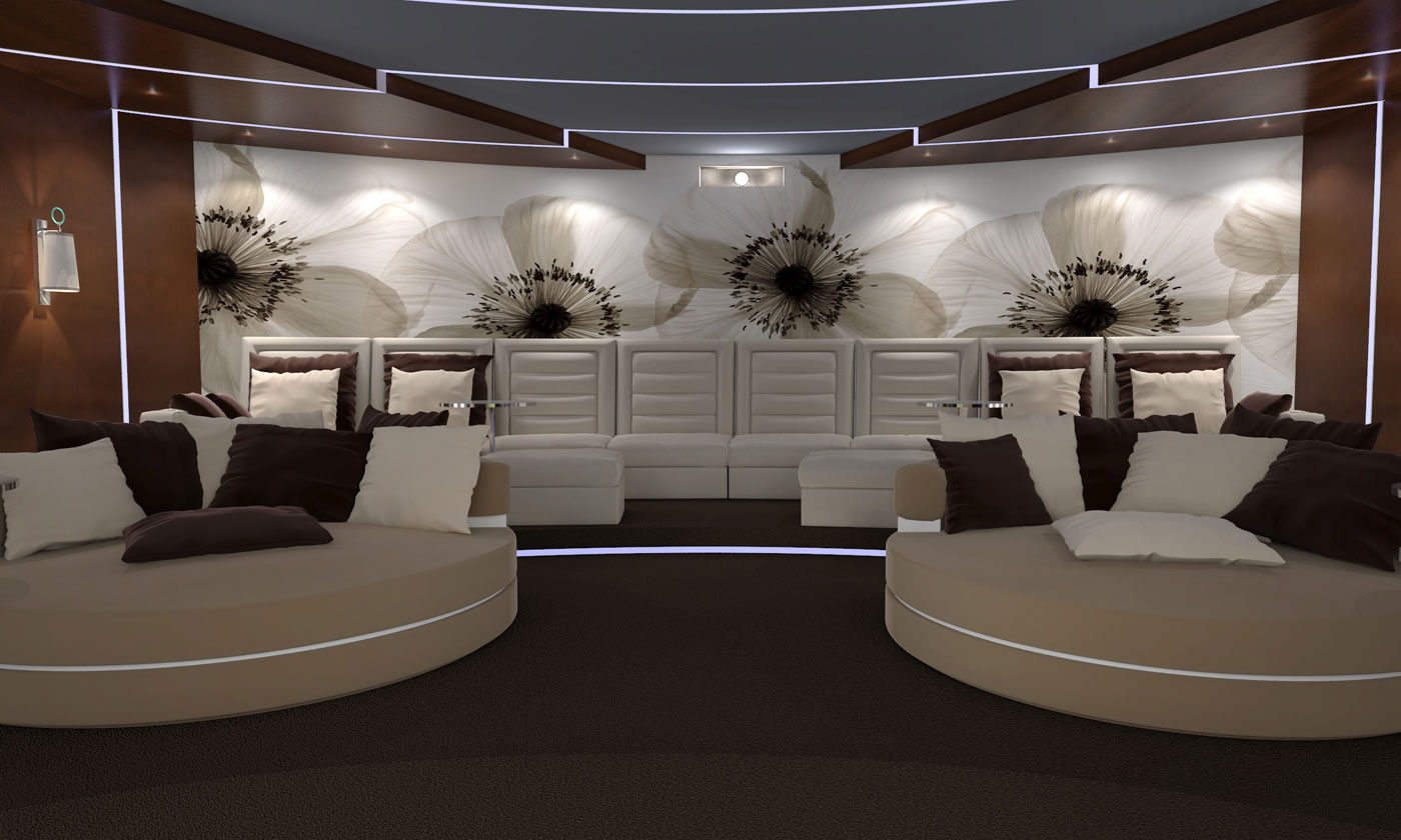 Cinema Moskau-Interior design