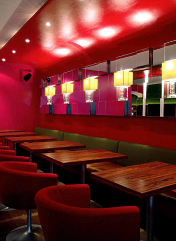 Restaurant Berlin - Raumkonzept